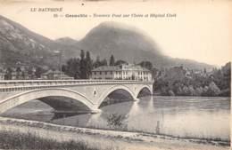 38 - GRENOBLE - Nouveau Pont Sur L'Isère Et Hôpital Civil - Grenoble