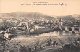 46 - CAHORS - Vue Générale - Quartier Du Pont-Valentré - Cahors