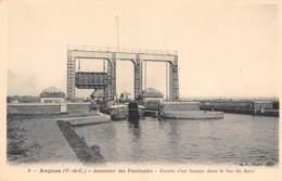 62 - ARQUES - Ascenseur Des Fontinettes - Entrée D'un Bateau Dans Le Bac Du Haut - Arques