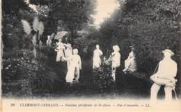 63 - CLERMONT-FERRAND - Fontaine Pétrifiante De St-Alyre - Vue D'ensemble - Clermont Ferrand