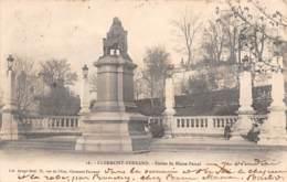 63 - CLERMONT-FERRAND - Statue De Blaise Pascal - Clermont Ferrand