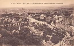 63 - ROYAT - Vue Générale Et Panorama Sur Clermont - Royat