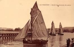 76 - LE TREPORT - Sortie Des Barques De Pêche - Le Treport