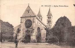 77 - MELUN - Eglise Notre-Dame - Melun