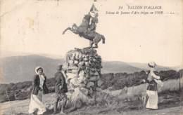 88 - BALLON D'ALSACE - Statue De Jeanne D'Arc érigée En 1909 - France