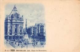 BRUXELLES - Place De Brouckère - Marktpleinen, Pleinen