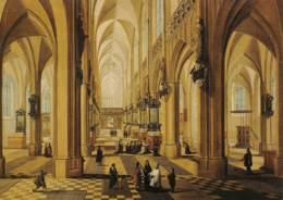 CPM - ANTWERPEN - Intérieur Van De Onze Lieve Vrouwekerk - Galerij Willem V - Antwerpen