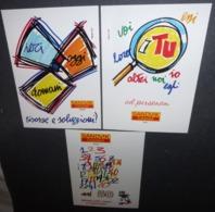 2 Cartes Postales - Sandvik Coromant Team - Publicité