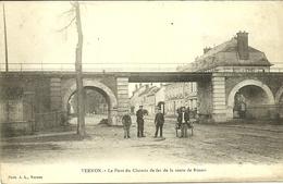 VERNON  -- Le Pont Du Chemin De Fer De La Route De Rouen                                              -- A L. - Vernon