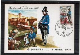 LBR26 - FRANCE JT 14/3/1970 - Journée Du Timbre