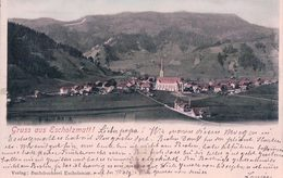 Gruss Aus Escholzmatt (26.7.1904) - LU Luzern