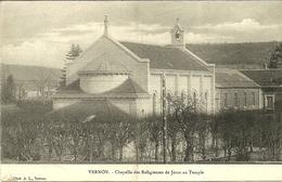 VERNON  -- Chapelle Des Religieuses De Jésus Au Temple                                           -- A L. - Vernon