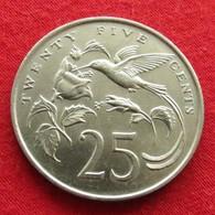 Jamaica 25 Cents 1986 Jamaique Jamaika Wºº - Jamaica