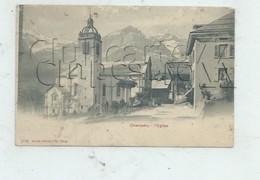 Champéry (Suisse, Valais) : La A Place De L'église Env 1905 (PF. - VS Valais