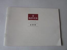 Auto Brochure : Rover Serie 400 - Books, Magazines, Comics