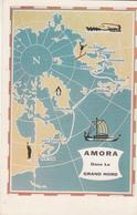 AMORA Dans Le Grand Nord - Cartes Géographiques
