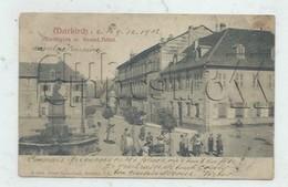 Markirch Ou Sainte-Marie-aux-Mines (68) : Markplatz Mit Grand Hôtel Env 1902 (animé) PF - Sainte-Marie-aux-Mines