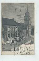 Markirch Ou Sainte-Marie-aux-Mines (68) : Mairie Et église De La Madeleine Env 1902 (animé) PF - Sainte-Marie-aux-Mines