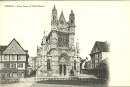 VERNON  -- Notre-Dame Et Vieille Maison                                        -- A L. - Vernon