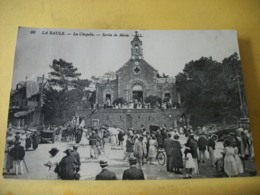 44 6174 CPA 1921 - 44 LA BAULE. LA CHAPELLE. SORTIE DE MESSE - TRES BELLE ANIMATION. - La Baule-Escoublac