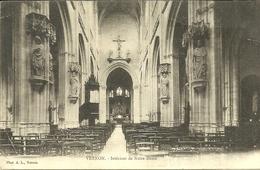 VERNON  -- Intérieur De Notre-Dame                                      -- A L. - Vernon