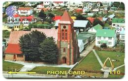 195CFKA (Ø) - Christ Church Cathedral (Dashed Zero) - Falkland Islands