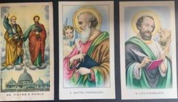 "Santino Holy Card "" SS PIETRO E PAOLO   "" Ed. GMI 83 - Religione & Esoterismo"