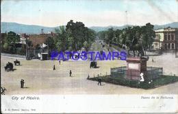 105064 MEXICO CITY PASEO DE LA REFORMA & MONUMENTO POSTAL POSTCARD - Mexique