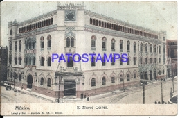 105063 MEXICO D.F EL NUEVO CORREO POST OFFICE POSTAL POSTCARD - Mexique