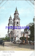 105065 MEXICO MORELIA MICHOACAN CATEDRAL & RAILROAD POSTAL POSTCARD - Mexique