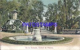 105069 MEXICO CITY EN LA ALAMEDA MALL & FUENTE POSTAL POSTCARD - Mexique