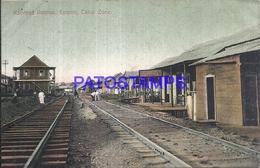 105070 PANAMA CANAL ZONE RAILROAD AVENUE EMPIRE POSTAL POSTCARD - Panama