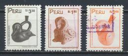 °°° PERU - Y&T N°1137/71/72 - 1998/1999 °°° - Perù