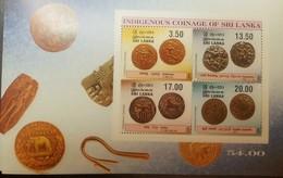 O) 2000 SRI LANKA, COMMEMORATIVE COINS-KAHAVANU-VIJAYABAHU-SATHU-BUDDHA, MNH - Sri Lanka (Ceylon) (1948-...)