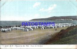 105078 PORTUGAL FIGUEIRA DA FOZ BEACH OF BATHS POSTAL POSTCARD - Unclassified