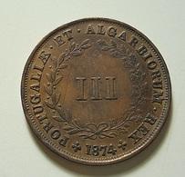 Portugal III Reis 1874 - Portugal