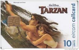IRELAND - Disney/Tarzan 3, Tirage 75000, Used - Disney