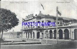105083 CUBA CIENFUEGOS THEATER TERRY & LYCEUM POSTAL POSTCARD - Cartes Postales
