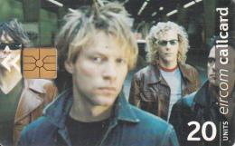 IRELAND - Bon Jovi, Chip GP1, Tirage %80000, Used - Music