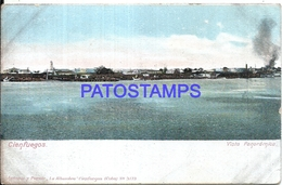 105089 CUBA CIENFUEGOS VIEW PARTIAL SPOTTED POSTAL POSTCARD - Cartes Postales