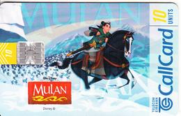 IRELAND - Disney/Mulan, 10/98, Used - Ireland