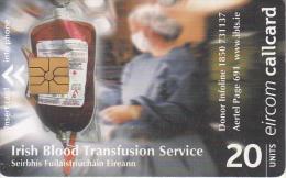 IRELAND - Irish Blood Transfusion Service, Chip GP1, Used - Ireland