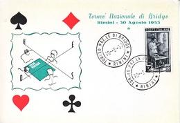 ITALY  BRIDGE  NATIONAL   TORNEO   1953 - Games