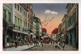 21468  Cpa KAISERSLAUTERN  : Marktstrasse ! 1919 !! Jolie Cpa Animée !! ACHAT DIRECT !! - Kaiserslautern