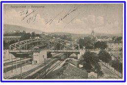 21486  Cpa   SAARGEMÜND / Sarreguemines :  Bahnpartie  ! 1919 !! - Sarreguemines
