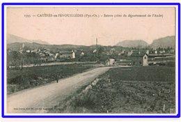 21488  Cpa   CAUDIES De FENOUILLEDES : Entrée ( Côté Du Département De L' Aude  ) - France