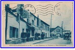 """21490  Cpa   BOISSISE LA BERTRAND  :  """" Aux Chasseurs Et Pêcheurs  """"  !! Hôtel Restaurant  !! 1943 !! - France"""