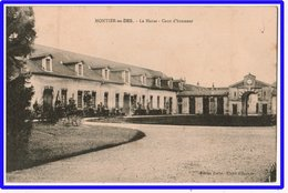 21496  Cpa  MONTIER EN DER  : Le Haras - Cour D' Honneur !! 1948 !! - France