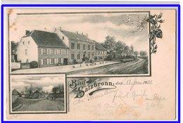 21497  Cpa   BAD SALZBRONN  : Double Vues !  Précurseur  1901 !! - France