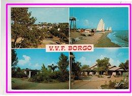 23066   Cpm  BORGO Village Vacances Familles : Vue D'ensemble Du Village , Multivues  ! ACHAT DIRECT  !! - France